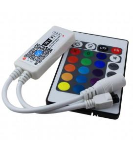 Мини Wifi +ИК Контроллер RGB с пультом 24 кнопки