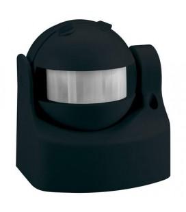 Датчик движения ИК настеннный черный , 220 Вольт АС