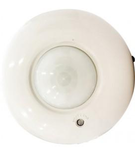 Датчик движения ИК потолочный сфера 360,  220 Вольт АС