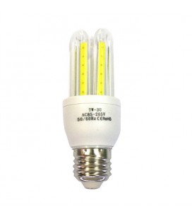 Лампа светодиодная COB форма U 7Ватт