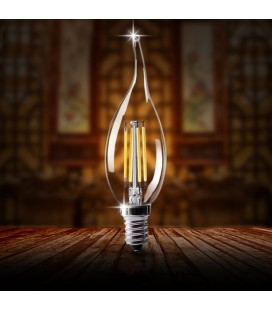 Лампа светодиодная Филаментная E14 4ВТ