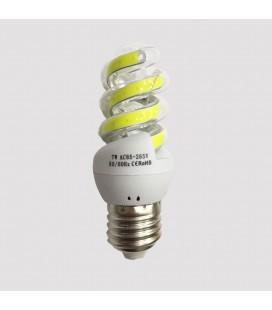 Лампа светодиодная COB форма спираль 7 Ватт