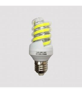 Лампа светодиодная COB форма спираль 12Ватт