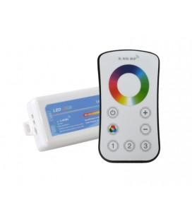 Touch Радиоконтроллер  RGB, 2,4G, с 3-х зонным пультом