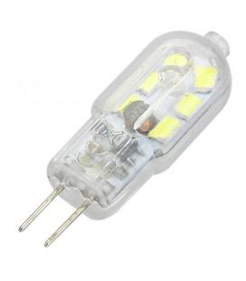 Лампа светодиодная G4-2.5W-12V прозрачная, акриловый колпачок