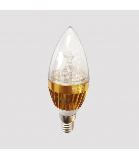 LED свеча фигурная E14-5,4W