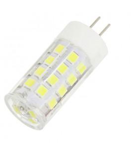 Лампа светодиодная G4-5W 12вольт прозрачная в керамическом колпачке