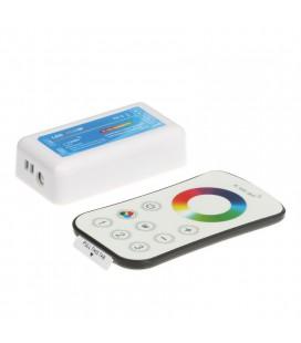 Touch Радиоконтроллер RGBW/RGBW.W, 2,4G, с 3-х зонным пультом