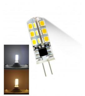 Лампа светодиодная G4-3W 12 вольт прозрачная