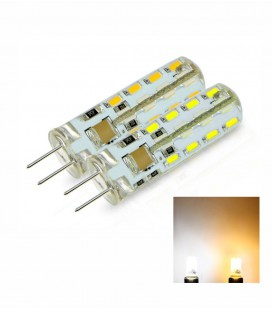 Лампа светодиодная G4-4W-220V прозрачная