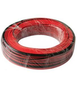 Провод для одноцветной LED ленты 2*0,75мм2 (продажа кратно 5м)