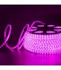 Светодиодная лента SMD-3528-60LED/M 220V розовая