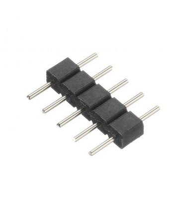 PIN соединитель для RGB+W  ленты 12/24V