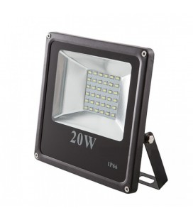 Светодиодный прожектор SMD-20W-IP65-12V