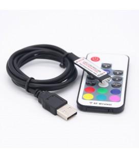 Мини USB RGB контроллер 5-24  вольт
