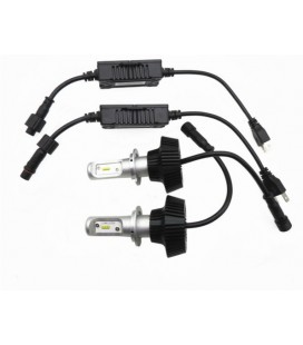 Комплект светодиодных авто LED ламп, головной свет CREE (XBD) H4