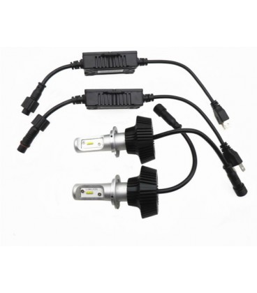 Светодиодная авто лампа, головной свет COB H1