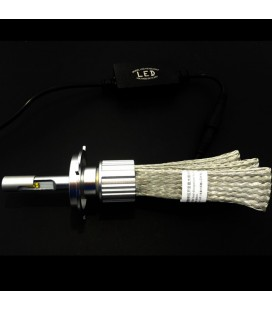 Комплект светодиодных авто ламп, головной свет CREE (XBD) H4 с гибким радиатором