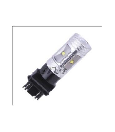 Светодиодная авто лампа ПТФ, CREE XBD +линза H1 30 Ватт