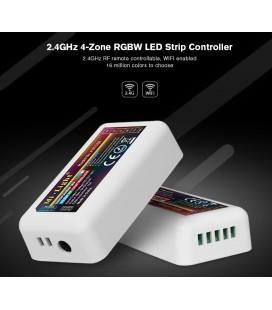 Радиоконтроллер белый+теплый белый (mix white) Mi-Light, белый , 2,4 Гц ,  для многозонного пульта