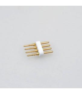 pin соедиение  для  гибкого неона RGB  220в 8*16 mm
