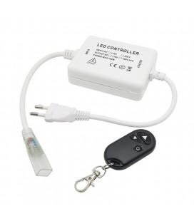 Радио диммер для светодиодной  ленты 220 Вольт, разъем 6 мм, для 3528, 2835, 5050,3014