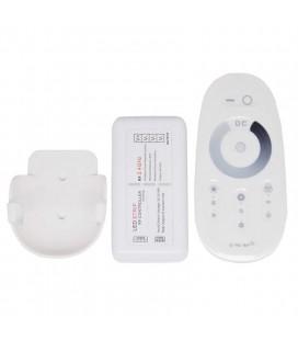 Touch Радио диммер для одноцветной ленты, 2,4G, белый, с держателем для пульта, 12А