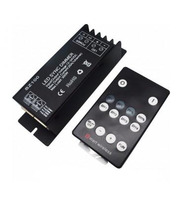 Радио кнопочный диммер  14 кнопок 25А