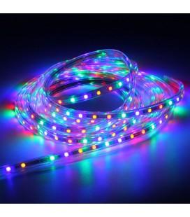 Светодиодная лента SPT-5050RGB-60LED/M 220V стандарт (Продажа кратно 5м)