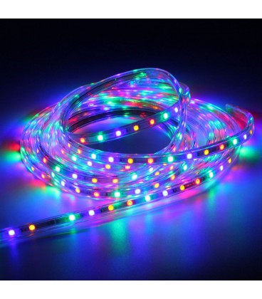 Светодиодная лента SPT-5050RGB-60LED/M 220V стандарт