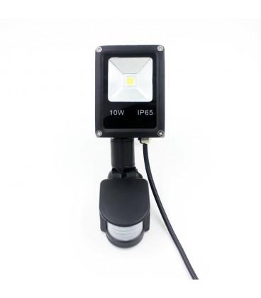 Светодиодный прожектор SLIM с датчиком движения 10W-IP65-220V