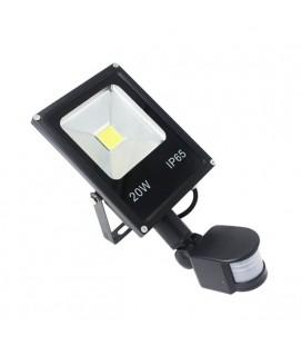 Светодиодный прожектор SLIM с датчиком движения 20W-IP65-220V