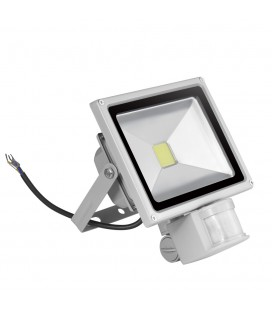 Светодиодный прожектор с датчиком движения 30W-IP65-220V