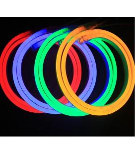 Светодиодный гибки неон 12 Вольт 5050-60 диодов ( 10*21мм) high lum RGB (продажа кратно 5м)