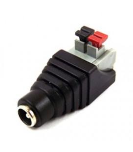 соедиение для кабеля постоянного тока самозажимной разъем мама