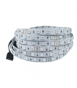 Светодиодная лента RGB: SMD5050-60LED-IP33-24в ( Продажа кратно 5м)