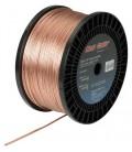 Провод для одноцветной LED ленты 2*0,5мм2 в прозрачной силиконовой оболочке цвет медный (продажа кратно 5м)