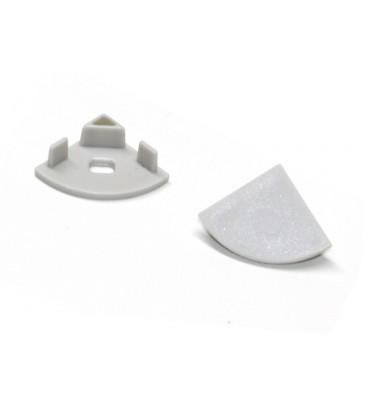 Заглушки для углового профиля 45° - 2 шт.