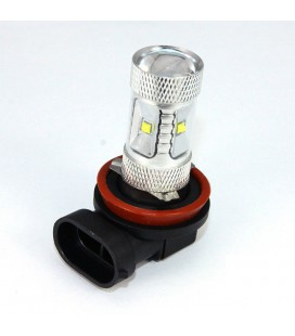 Авто LED лампа в противотуманные фары тип: CREE XBD +линза H8 30 Ватт