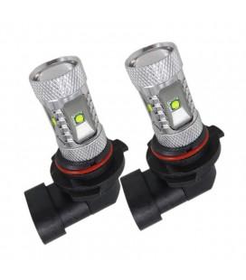 Светодиодная авто LED лампа ПТФ, CREE XBD +линза 9005 (HB3) 30 Ватт