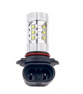 Светодиодная авто LED лампа ПТФ, CREE XBD +линза 9005 (HB3) 80 Ватт
