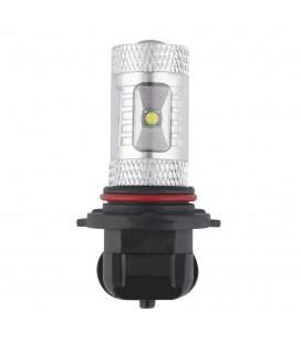 Светодиодная авто лампа ПТФ, CREE XBD +линза 9006 (HB4) 30 Ватт