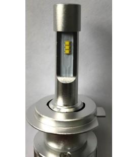 Комплект светодиодных авто ламп, головной свет CREE (XBD) 9012 (HIR 2) с гибким радиатором