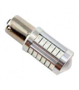 Светодиодная авто лампа 1157 (P21/5W,BAZ15D) тип: smd 5630 +линза 8 Ватт