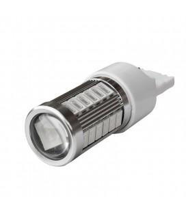 Светодиодная авто лампа 7440 (W21W, T20) 5630 +линза 8 Ватт