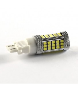 Светодиодная авто лампа 3157 (P27/7W) 2835 +линза 13 Ватт