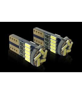 Светодиодная авто лампа c декодером , T10 (W5W), 4014, 1,5 Ватт