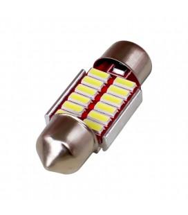Авто лампа светодиодная c декодером 31 мм, C5W ,4014 , 1,5 Ватт
