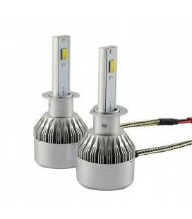 Комплект светодиодных авто ламп, головной свет Flip Chip H1