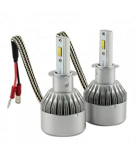 Комплект светодиодных авто ламп, головной свет Flip Chip H3